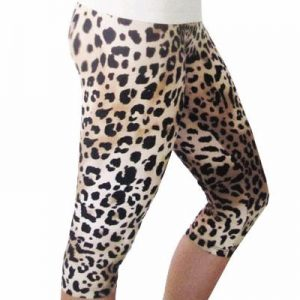 Leopard Print Women's Dance Bodycon Tights Distributor