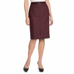 Maroon Pencil Skirt Wholesale
