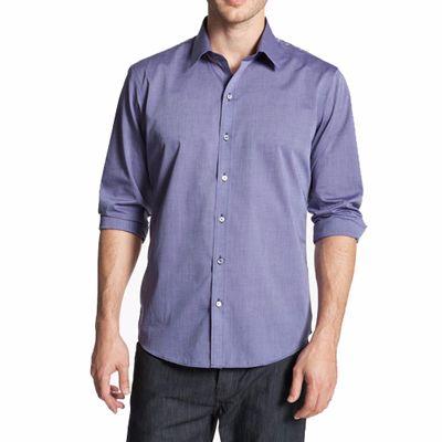 Wholesale Men's Fashionable Dual Tone Shirt