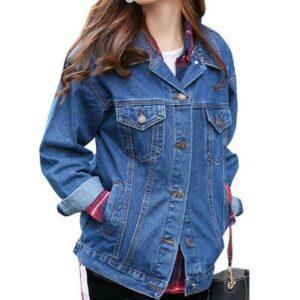 New Designed Active Womens Denim Jackets Manufacturer