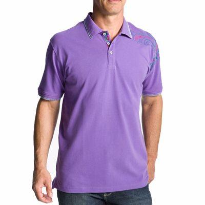 Purple Polo Shirt for Men Supplier