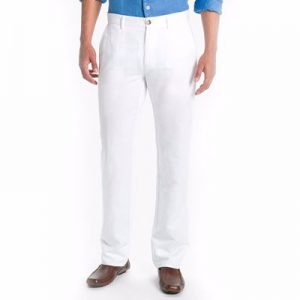 White Straight Cut Jeans for Men Manufacturer