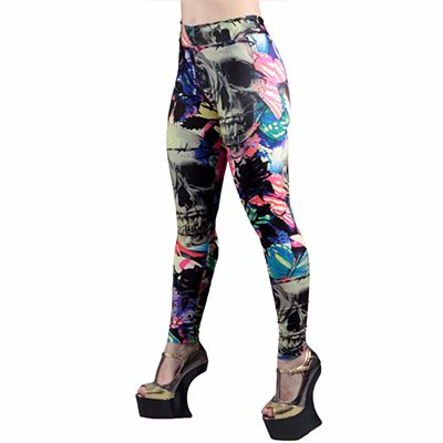 Abstract Sublimated Leggings Distributor
