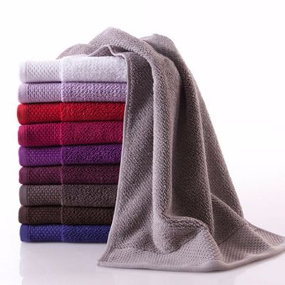 Beaded Bordered Plain Textured Towel Manufacturer