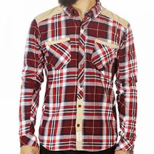 Biker Checked Designer Flannel Shirt Distributor