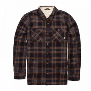 Wholesale Black and Blue Flannel Shirt