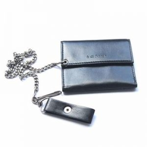 Wholesale Black Leather Security Wallet