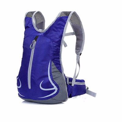 Blue and Grey Hydration Backpack Distributor