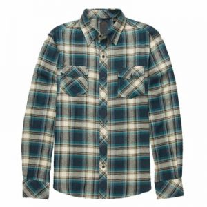 Wholesale Blue Stylish Flannel Shirt