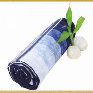Wholesale Blue White Sublimation Towel