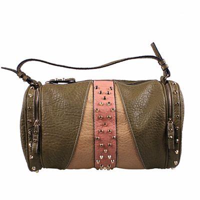 Choco Bolster Patched Handbag Distributor