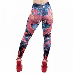 Colorful Printed Sublimated Leggings Distributor