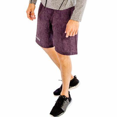 Comfort Denim Purple Fitness Shorts Distributor