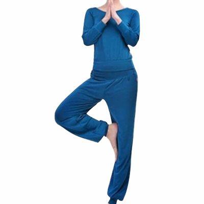 Cool Blue Yoga Fitness Set Distributor