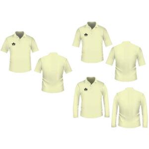 Wholesale Cream Plain Cricket Clothes