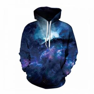 Dark Blue Sublimated Hoodie Distributor