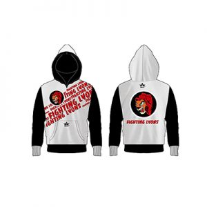 Wholesale Fighting Lyons Sublimation Hoodie