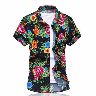 Wholesale Floral Printed Sublimated Shirt