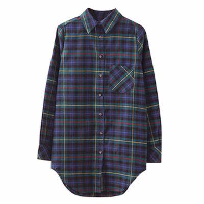 Glossy Neon Flannel Shirt Supplier