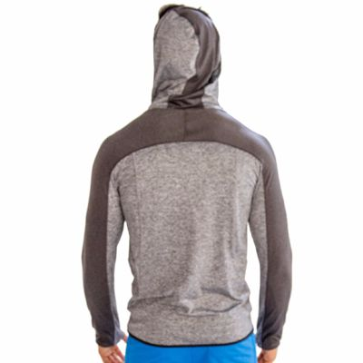 Wholesale Grey Fitness Hoodie
