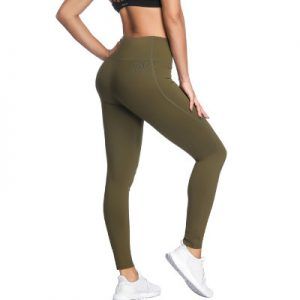 Latest Design Khaki Women Yoga Leggings Supplier