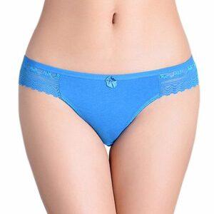 Light Blue Lace Underwear for Women Distributor