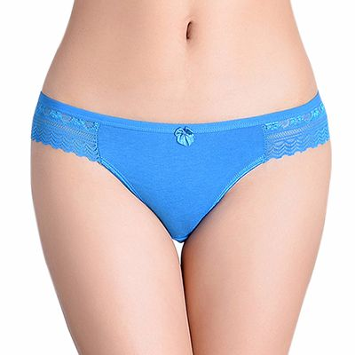 Light Blue Lace Underwear for Women Distributor
