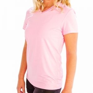 Light Pink Fitness T-Shirt Supplier