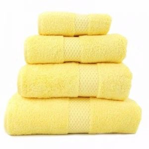 Wholesale Mellow Yellow Egyptian Towel Sets