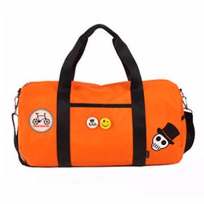 Wholesale Multi-Purpose Orange Duffel Bag