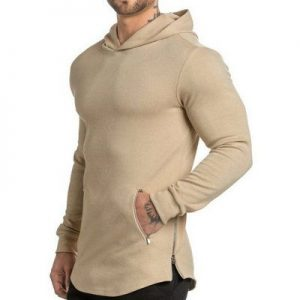New Arrival Mens Muscle Fit Gym Hoodie Distributor