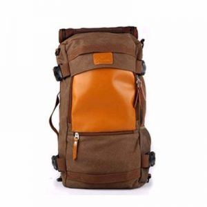 Wholesale Orange and Brown Hiking Backpack