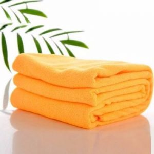 Orange Microfiber Towels Manufacturer