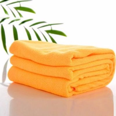 Orange Microfiber Towels Manufacturer