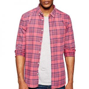 Pink Checkered Cool Flannel Shirts Distributor
