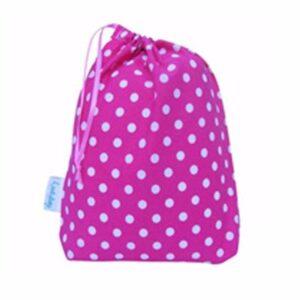 Pink Polka Dot Bag Supplier