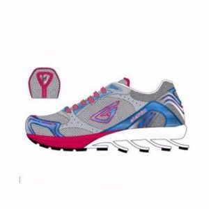 Power Craft Grey Top Fit Running Shoes Manufacturer