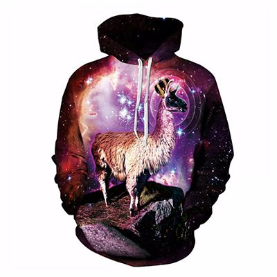 Printed Animal Sublimated Hoodie Manufacturer
