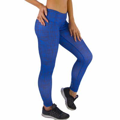 Printed Blue Fitness Leggings Manufacturer