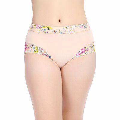 Printed Cream Women's Underwear Supplier