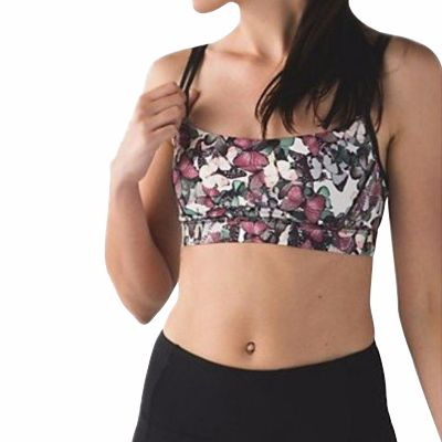 Printed Full Coverage Yoga Fitness Bra Supplier
