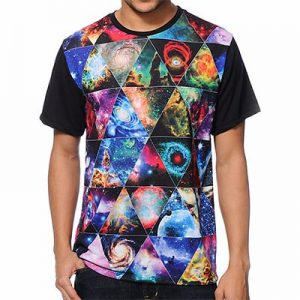 Psychedelic Sublimated T-Shirt Supplier