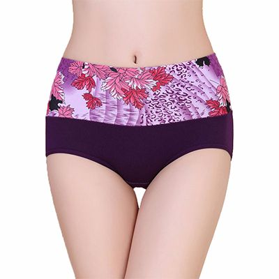 Purple Printed Women's Underwear Manufacturer