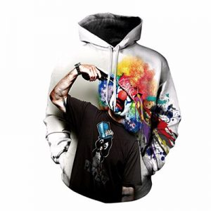Sad Joker Sublimated Hoodie Supplier