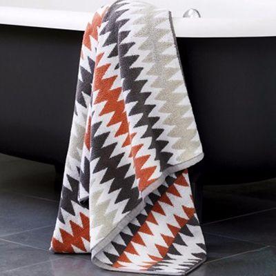 Wholesale Terracotta Herringbone Hotel Towels