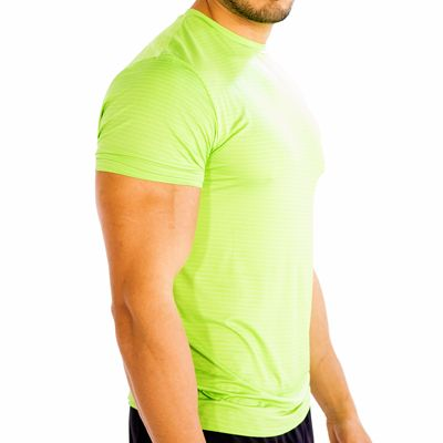 Trendy Neon Green Fitness T-Shirt Manufacturer