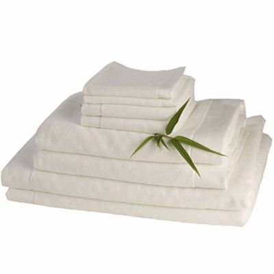 White Beach and Bathing Cotton Organic Towels Supplier