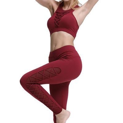 Womens New Arrival Yoga Clothing Set Manufacturer