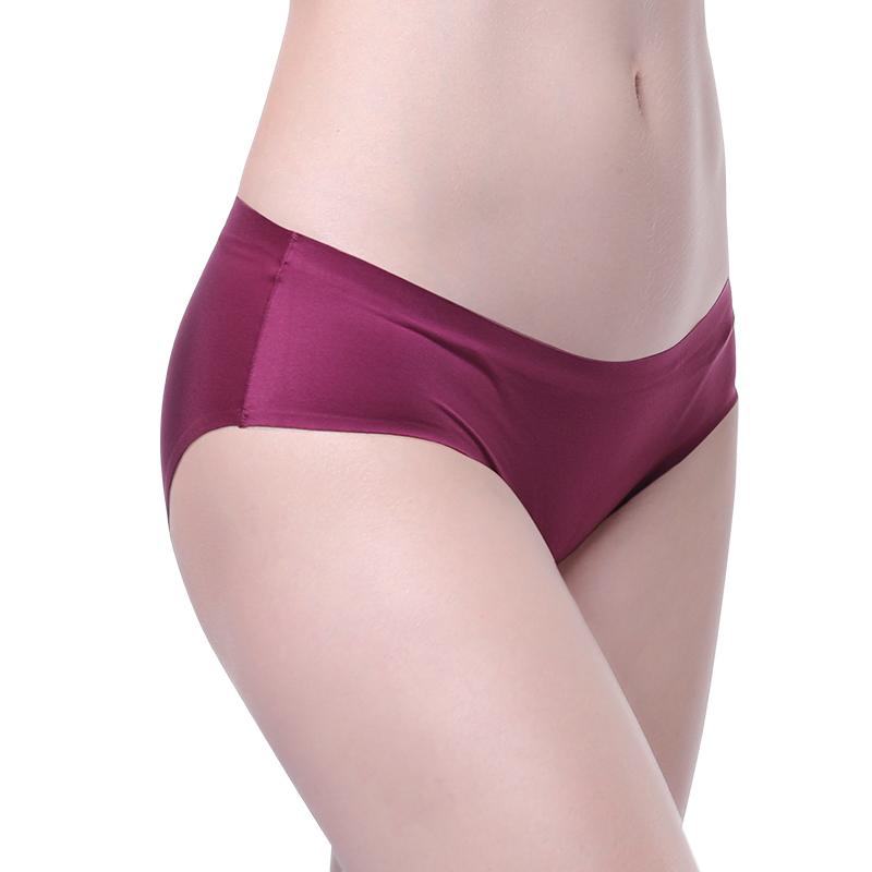 seamless underwear satin panties