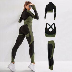 women seamless yoga set